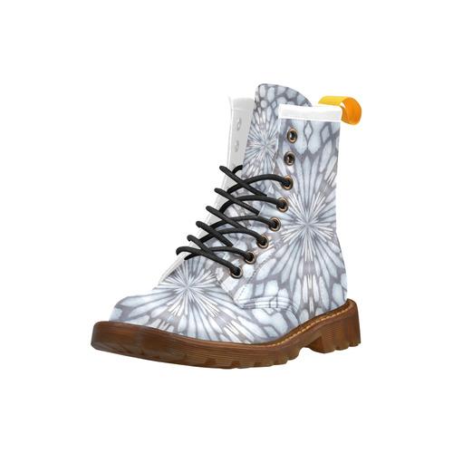 Snowburst High Grade PU Leather Martin Boots For Women Model 402H