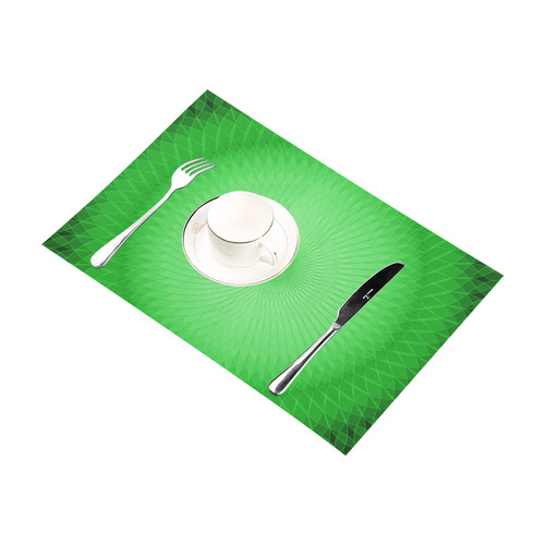 Green Plafond Placemat 12''x18''