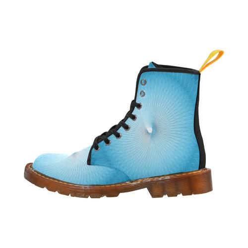 Light Blue Plafond Martin Boots For Men Model 1203H