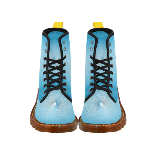 Light Blue Plafond Martin Boots For Men Model 1203H