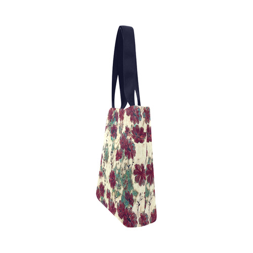 Floral Dreams 10 by JamColors Canvas Tote Bag (Model 1657)