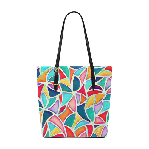 Tote Bag Summer Colors Euramerican Tote Bag/Small (Model ...