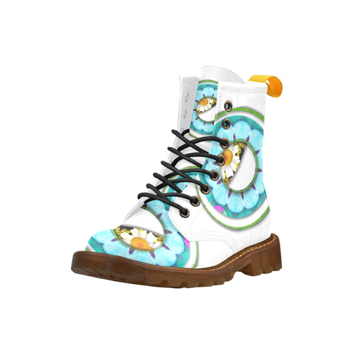 I see you High Grade PU Leather Martin Boots For Women Model 402H