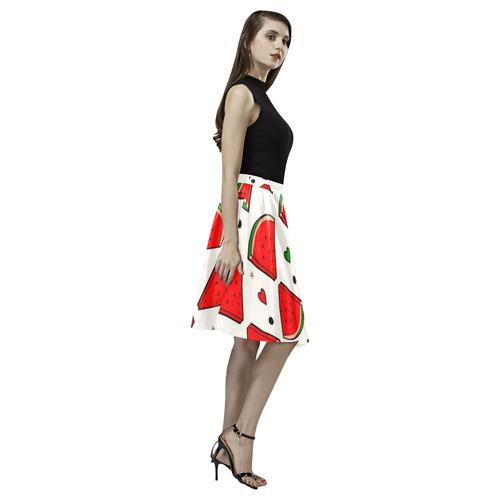 Melone by Nico Bielow Melete Pleated Midi Skirt (Model D15)