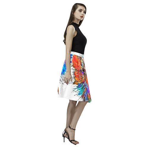 Big Bäng by Nico Bielow Melete Pleated Midi Skirt (Model D15)