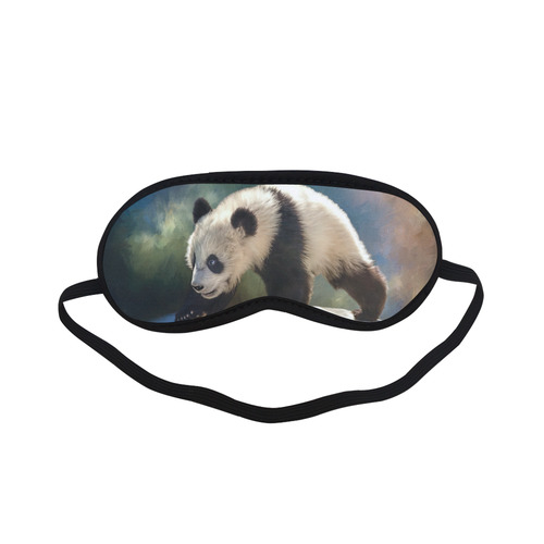 A cute painted panda bear baby Sleeping Mask