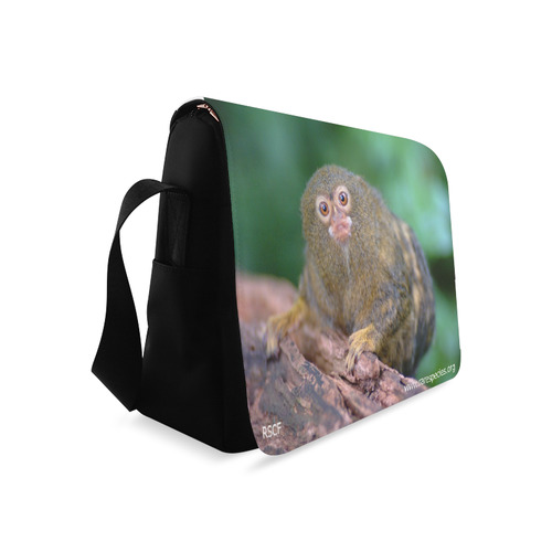 Pygmy Marmoset Messenger Messenger Bag (Model 1628)