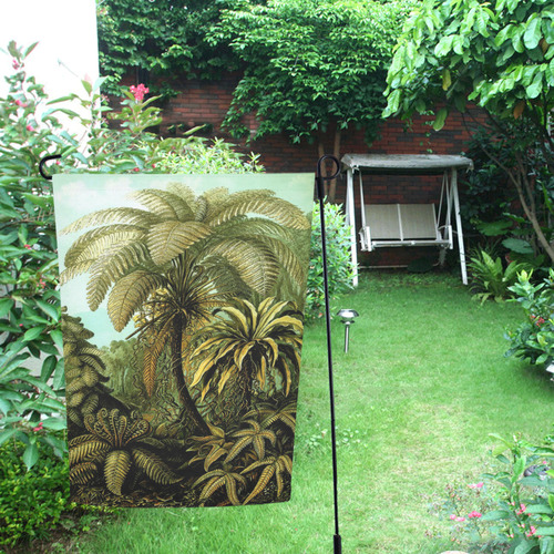 Natures Jungle Garden Flag 12''x18''(Without Flagpole)