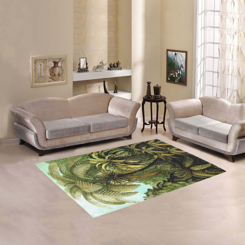 Natures Jungle Area Rug 5'3''x4'