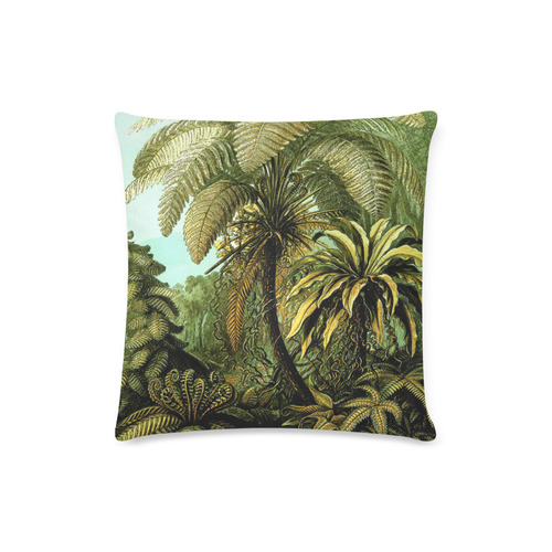 "Natures Jungle Custom Zippered Pillow Case 16""x16""(Twin Sides)"