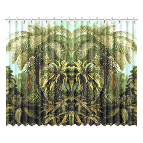 """Natures Jungle Window Curtain 52""""x84""""(Two Pieces)"""