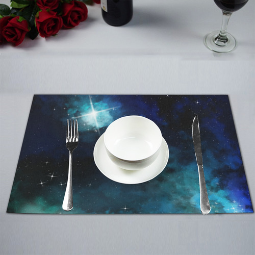 galaxy 5 Placemat 12'' x 18'' (Six Pieces)