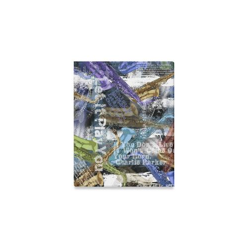 "8x10 Canvas Print Music Decor Saxophone Art By Juleez Canvas Print 10""x8"""