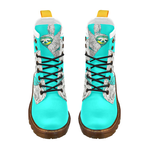 Slothing Around High Grade PU Leather Martin Boots For Women Model 402H
