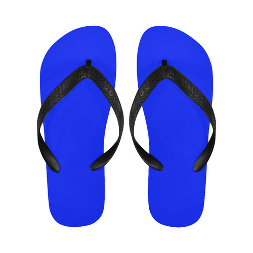 Only one Color: Royal Blue Flip Flops for Men/Women (Model 040)