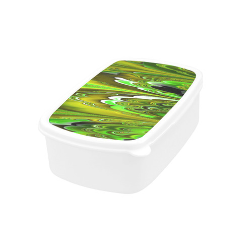marbled fractal 417C by JamColors Children's Lunch Box