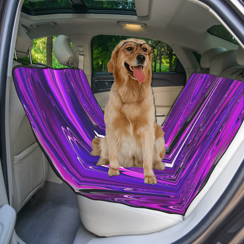 marbled fractal 417 B by JamColors Pet Car Seat 55''x58''