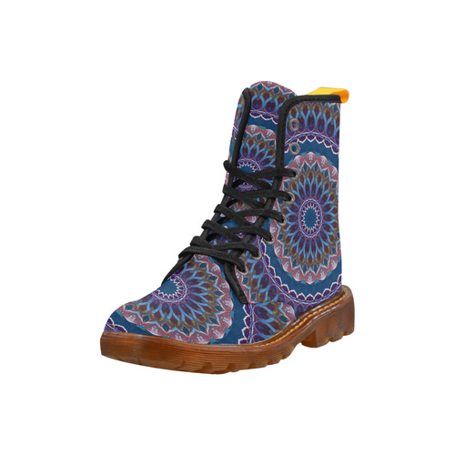 amazing mandala 18 A by JamColors Martin Boots For Women Model 1203H
