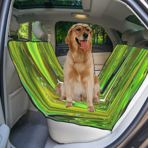 marbled fractal 417C by JamColors Pet Car Seat 55''x58''