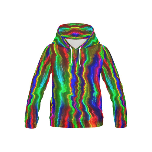 Hot abstract 8A All Over Print Hoodie for Kid (USA Size) (Model H13)
