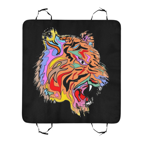 Amazing Tiger by Popart Lover Pet Car Seat 55''x58''