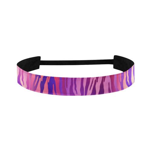 Colorful zebra Sports Headband