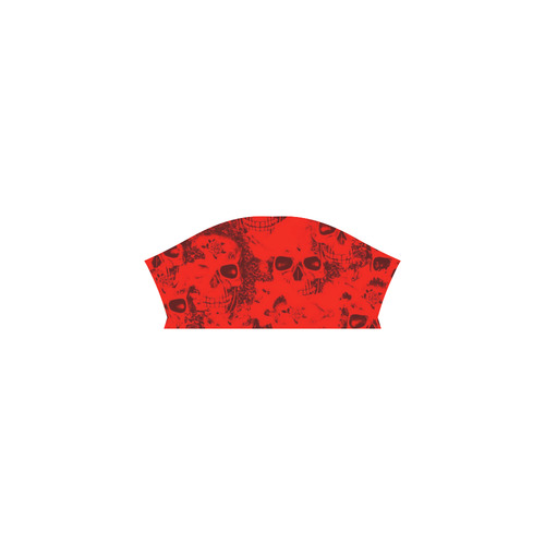 cloudy Skulls red by JamColors All Over Print T-Shirt for Men (USA Size) (Model T40)
