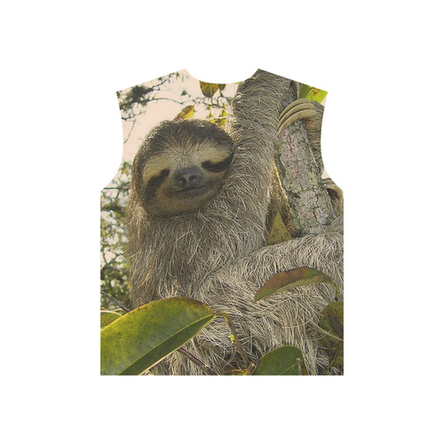 Awesome Animal - Sloth All Over Print T-Shirt for Men (USA Size) (Model T40)
