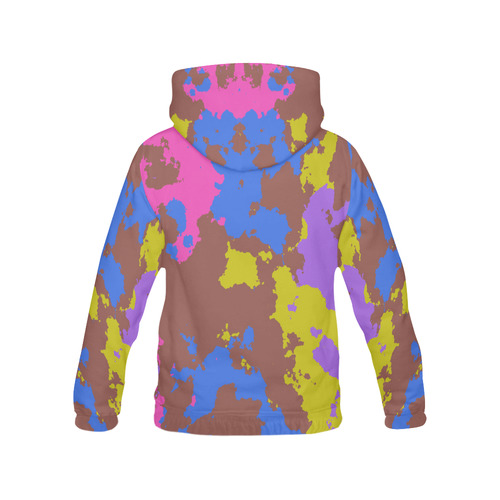 Retro texture All Over Print Hoodie for Men (USA Size) (Model H13)