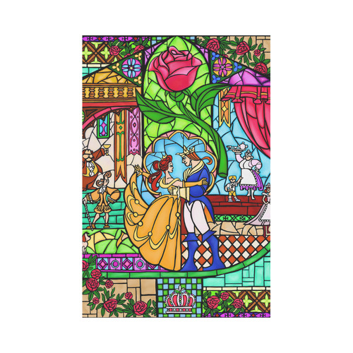 Tale As Old As Time Garden Flag 12''x18''(Without Flagpole)