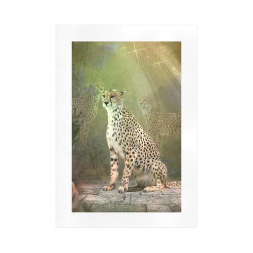 Beautiful leopard Art Print 16''x23''