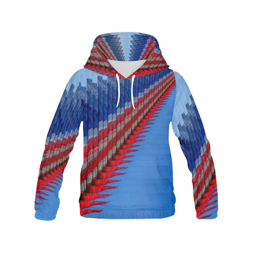 PROUD 2 All Over Print Hoodie for Men (USA Size) (Model H13)