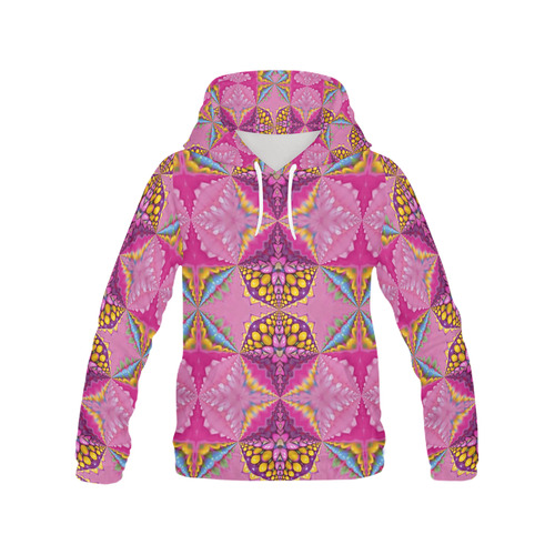 hoodie -annabellerockz-juicy-colors All Over Print Hoodie for Women (USA Size) (Model H13)