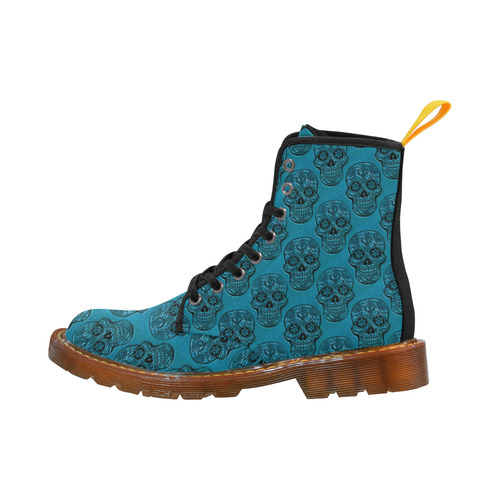 Skull20170508_by_JAMColors Martin Boots For Women Model 1203H