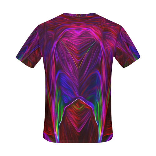 farbenyeti All Over Print T-Shirt for Men (USA Size) (Model T40)