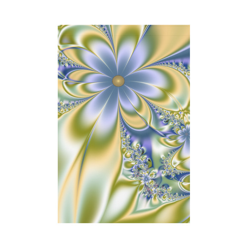 Silky Flowers Garden Flag 12''x18''(Without Flagpole)