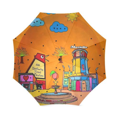 Marietta Popart by Nico Bielow Foldable Umbrella