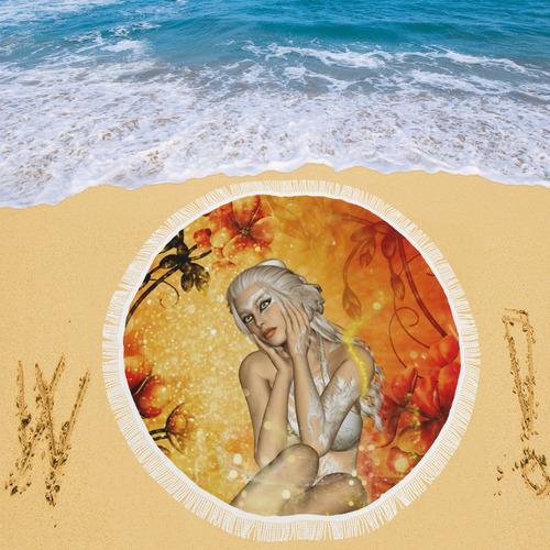 """Wonderful fairy Circular Beach Shawl 59""""x 59"""""""