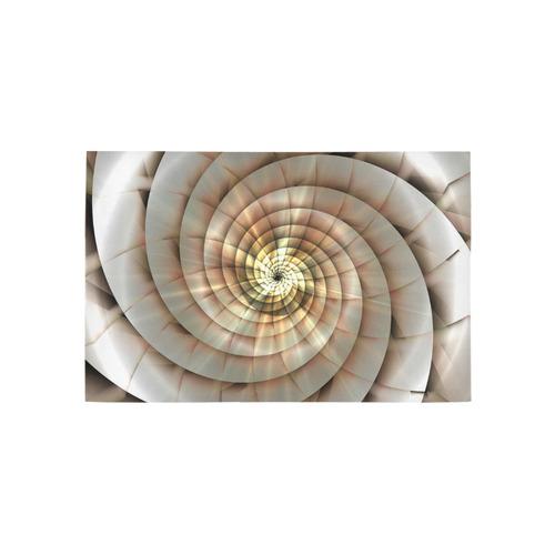 Spiral Eye 3D - Jera Nour Area Rug 5'x3'3''
