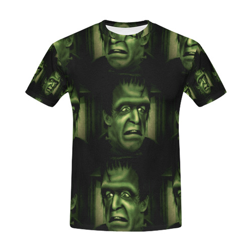 herman frankenstein All Over Print T-Shirt for Men (USA Size) (Model T40)