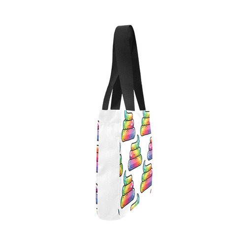 Unicorn poop Canvas Tote Bag 02 Model 1603 (Two sides)