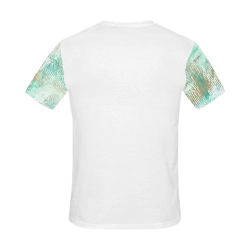 DESIGNERS TSHIRT : Wood structure / Original Men fashion All Over Print T-Shirt for Men (USA Size) (Model T40)