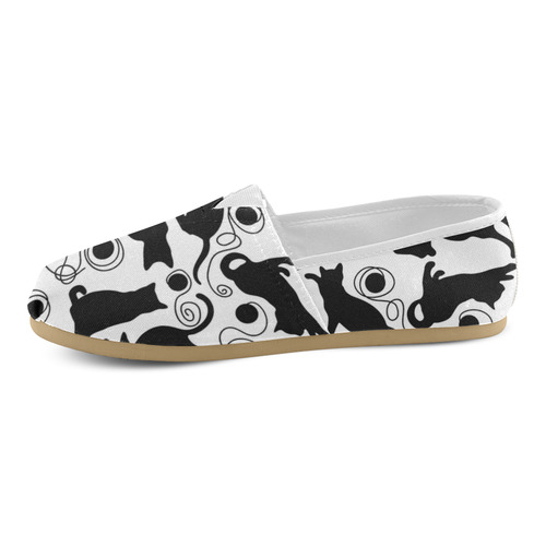Kitties Unisex Casual Shoes (Model 004)