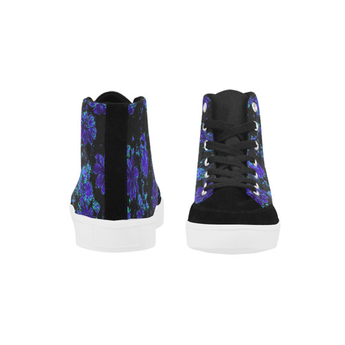 floral dreams 12 B by JamColors Herdsman High Top Shoes for Women/Large Size (Model 038)