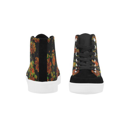floral dreams 12 C by JamColors Herdsman High Top Shoes for Women/Large Size (Model 038)