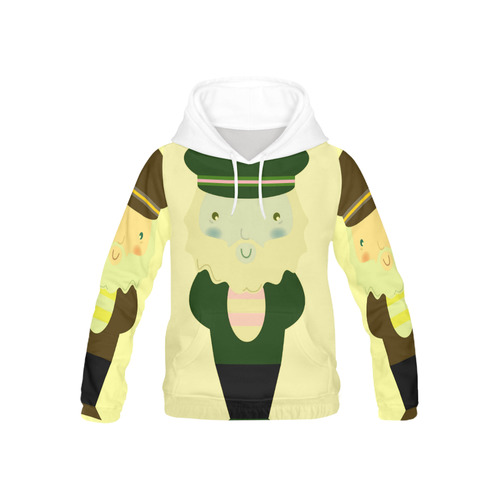 Kids designers hoodie with Mare man All Over Print Hoodie for Kid (USA Size) (Model H13)