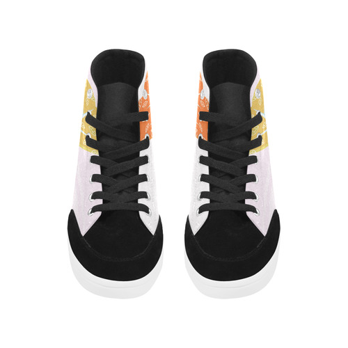Designers Autumn design Shoes with Tree Herdsman High Top Shoes for Women (Model 038)