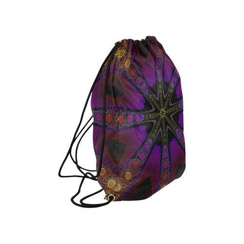"Folklore Large Drawstring Bag Model 1604 (Twin Sides)  16.5""(W) * 19.3""(H)"