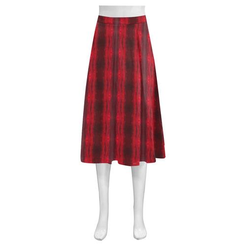 Rubied Rows Mnemosyne Women's Crepe Skirt (Model D16)