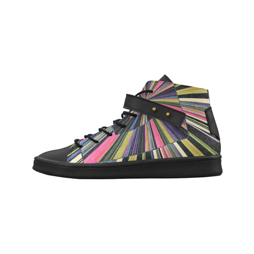 Geometric, desing, multicolor,Adamo, Lory High Top Men's Shoes (Model 310)